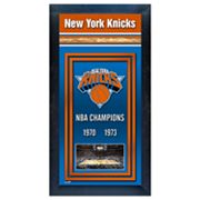 New York Knicks NBA Champions Framed Wall Art