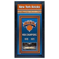 New York Knicks NBA® Champions Framed Wall Art