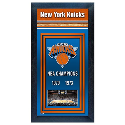 New York Knicks NBA® Champions Framed Wall Art