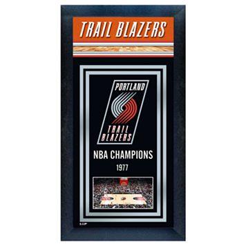 Portland Trail Blazers NBA® Champions Framed Wall Art