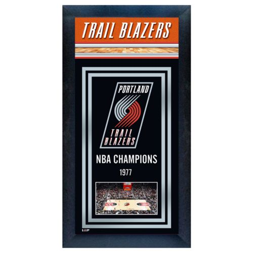Portland Trail Blazers NBA Champions Framed Wall Art
