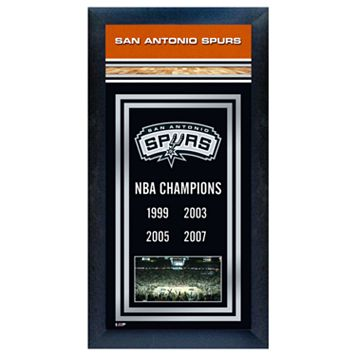 San Antonio Spurs NBA® Champions Framed Wall Art