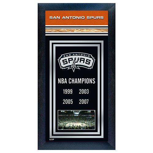 San Antonio Spurs NBA® Champions Framed Wall Art
