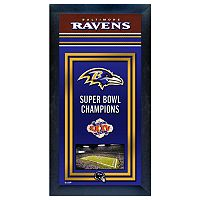 Baltimore Ravens Super Bowl® Champions Framed Wall Art