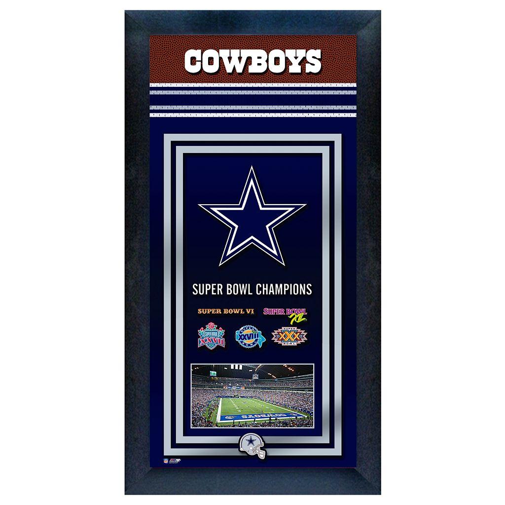 Dallas Cowboys Super Bowl® Champions Framed Wall Art