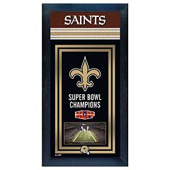 New Orleans Saints Super Bowl® Champions Framed Wall Art