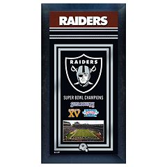Oakland Raiders Super Bowl® Champions Framed Wall Art