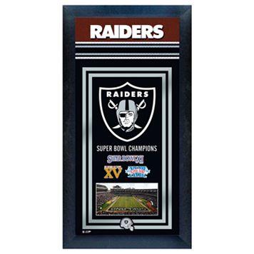 Oakland Raiders Super Bowl® Champions Framed Wall Art