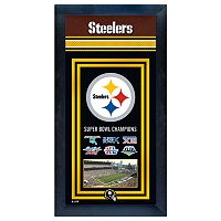 Pittsburgh Steelers Super Bowl® Champions Framed Wall Art