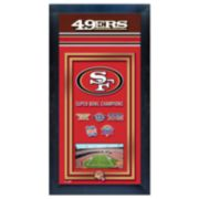 San Francisco 49ers Super Bowl® Champions Framed Wall Art