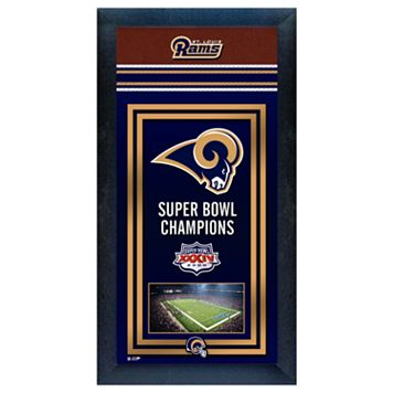 St. Louis Rams Super Bowl® Champions Framed Wall Art