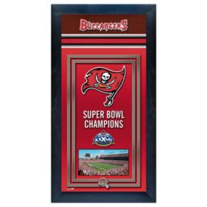 Tampa Bay Buccaneers Super Bowl Champions Framed Wall Art