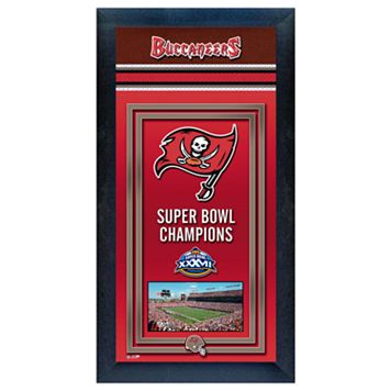 Tampa Bay Buccaneers Super Bowl® Champions Framed Wall Art