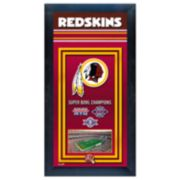 Washington Redskins Super Bowl® Champions Framed Wall Art