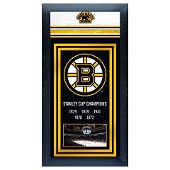 Boston Bruins Stanley Cup® ChampionsFramed Wall Art