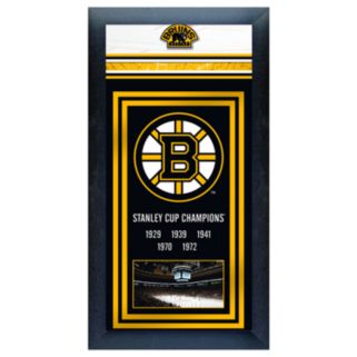 Boston Bruins Stanley Cup Framed Wall Art