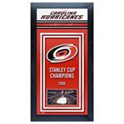 Carolina Hurricanes Stanley Cup® Champions Framed Wall Art