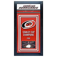 Carolina Hurricanes Stanley Cup® Champions Framed Wall Art