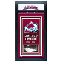 Colorado Avalanche Stanley Cup® Champions Framed Wall Art