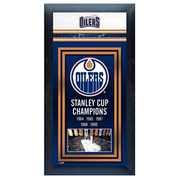 Edmonton Oilers Stanley Cup® Champions Framed Wall Art