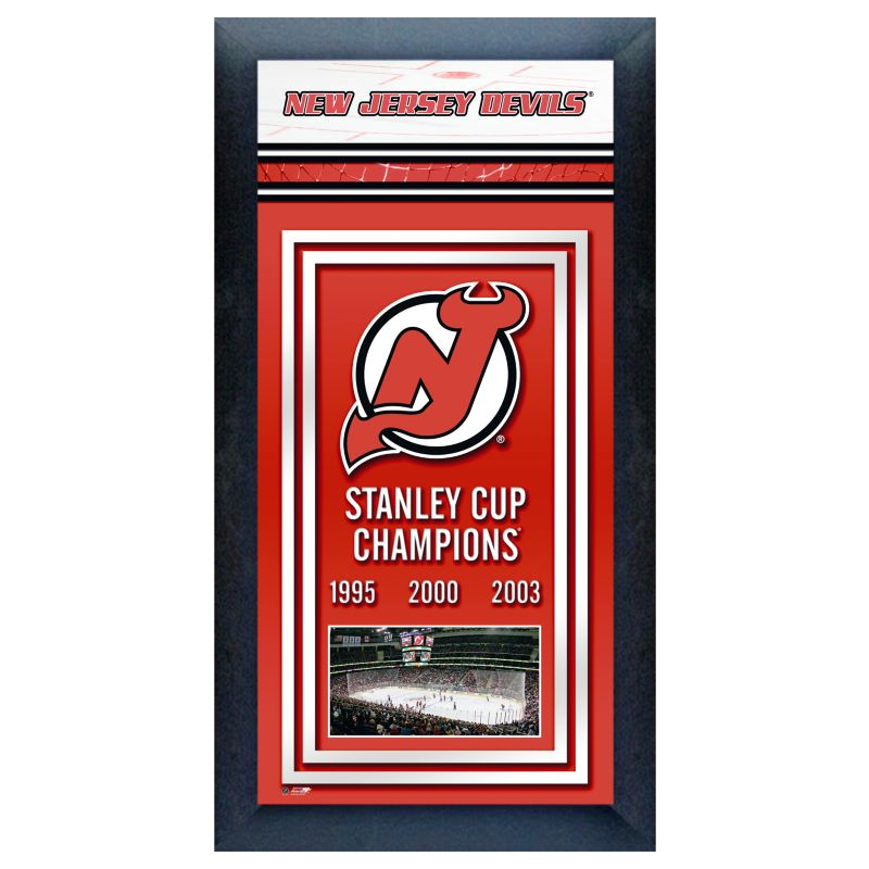 New Jersey Devils Stanley Cup Champions Framed Wall Art 91086613