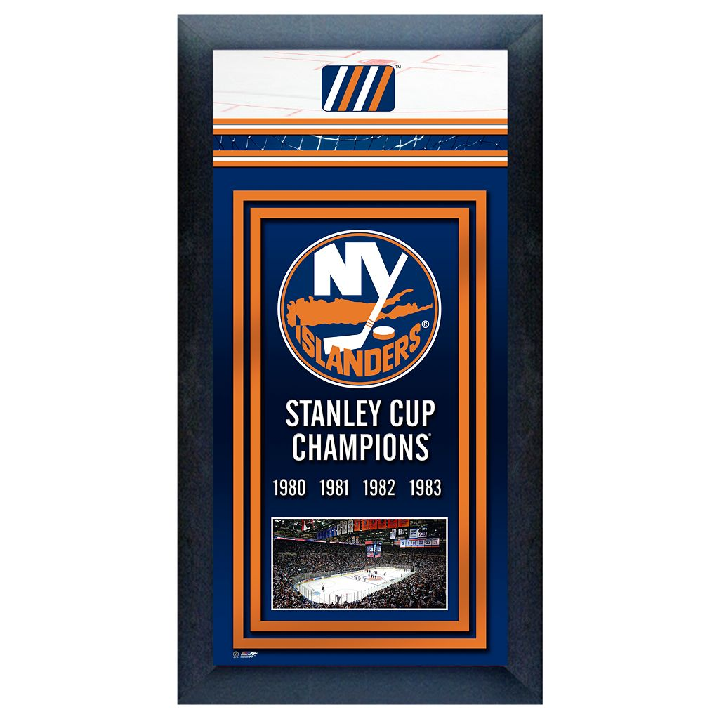 New York Islanders Stanley Cup® Champions Framed Wall Art