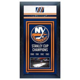 New York Islanders Stanley Cup Champions Framed Wall Art