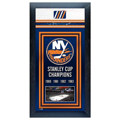New York Islanders Stanley Cup Champions Framed Wall Art