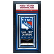 New York Rangers Stanley Cup Champions Framed Wall Art
