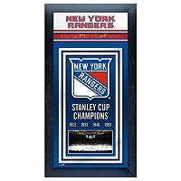 New York Rangers Stanley Cup® Champions Framed Wall Art