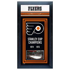 Philadelphia Flyers Stanley Cup® Champions Framed Wall Art