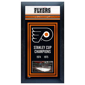 Philadelphia Flyers Stanley Cup® Champions Framed Wall Art