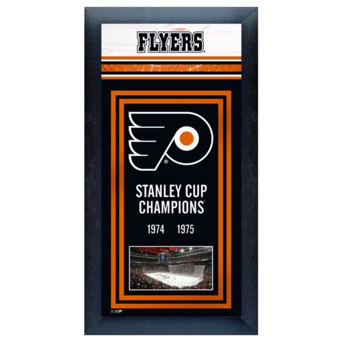 Philadelphia Flyers Stanley Cup Champions Framed Wall Art