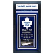 Toronto Maple Leafs Stanley Cup Champions Framed Wall Art