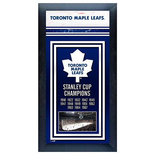Toronto Maple Leafs Stanley Cup® Champions Framed Wall Art