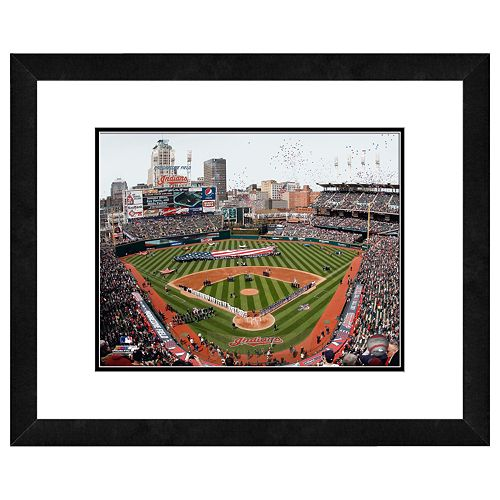 Progressive Field Framed Wall Art