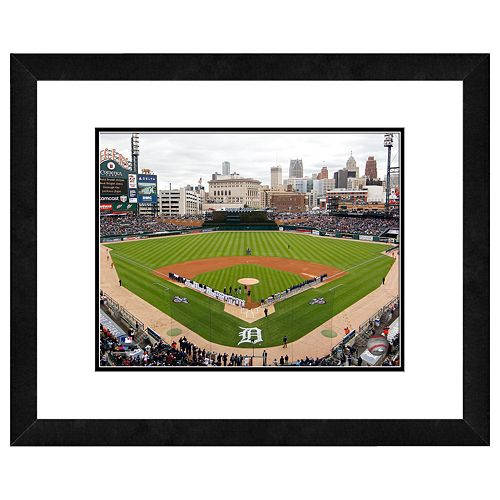 Comerica Park Framed Wall Art
