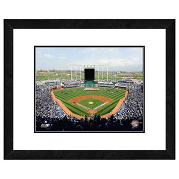 Kaufman Stadium Framed Wall Art