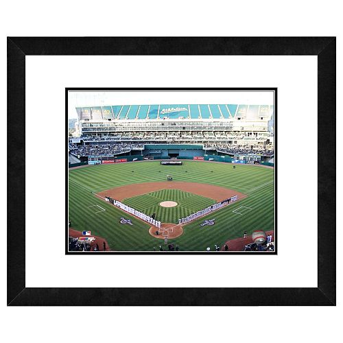 Oakland Coliseum Framed Wall Art