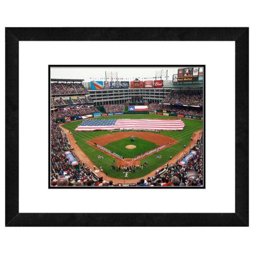 Rangers Ballpark in Arlington Framed Wall Art