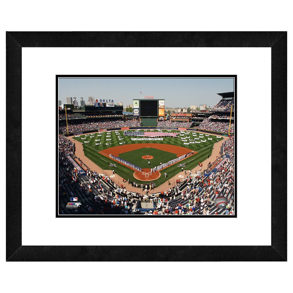 Turner Field Framed Wall Art