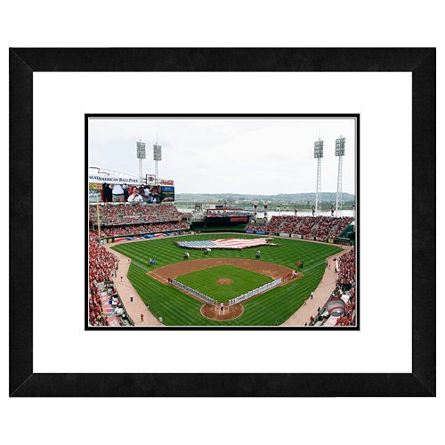 Great American Ballpark Framed Wall Art