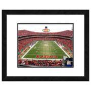 Kansas City Chiefs Arrowhead Stadium Framed Wall Art