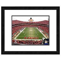 Kansas City Chiefs Arrowhead Stadium Framed Wall Art