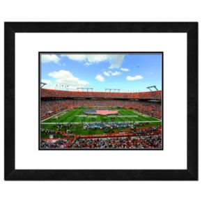 Miami Dolphins Sun Life Stadium Framed Wall Art