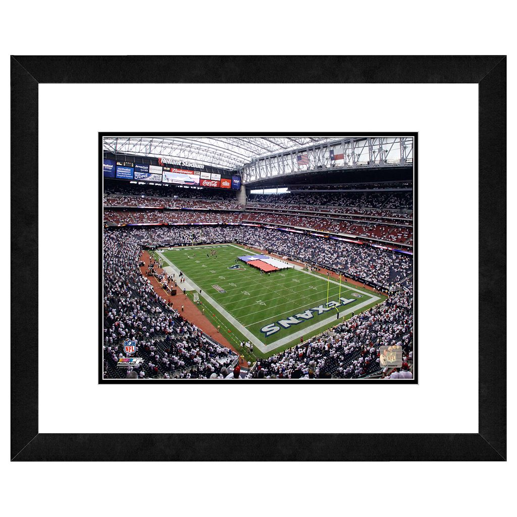 Houston Texans Reliant Stadium Framed Wall Art