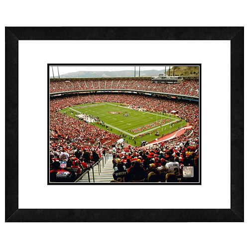 San Francisco 49ers Candlestick Park Framed Wall Art