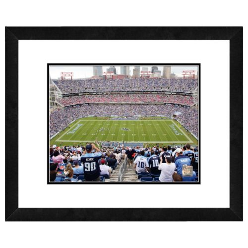 Tennessee Titans LP Field Framed Wall Art