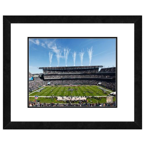 Philadelphia Eagles Lincoln Financial Field Framed Wall Art