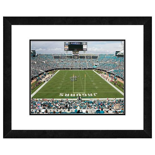 Jacksonville Jaguars Municipal Stadium Framed Wall Art